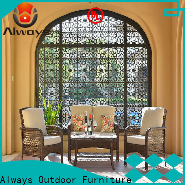 Always high quality commercial outdoor furniture wholesale promotion for gardens
