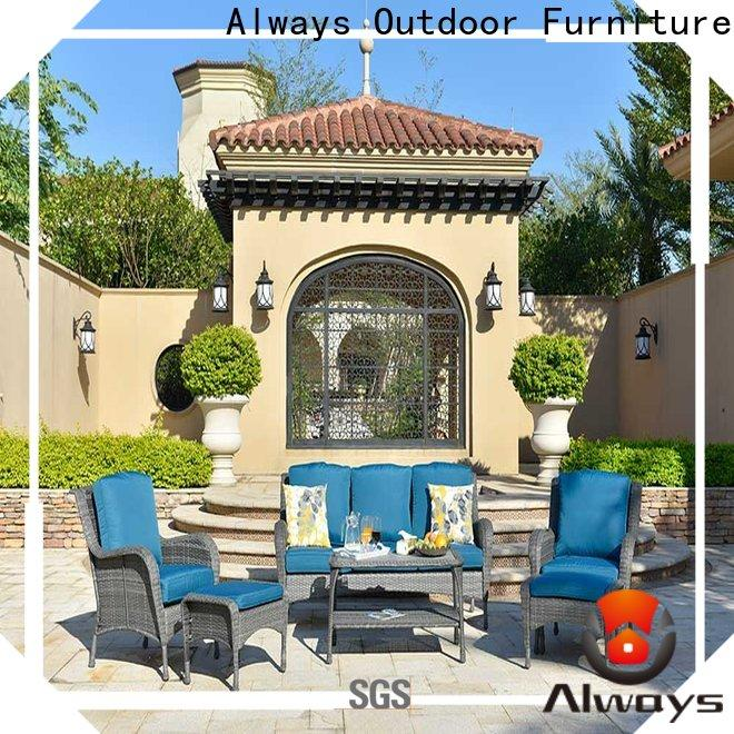 Always style wicker outdoor sofa set for sale for porch