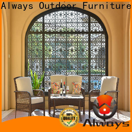 Always fashionable resin patio furniture couch for porch