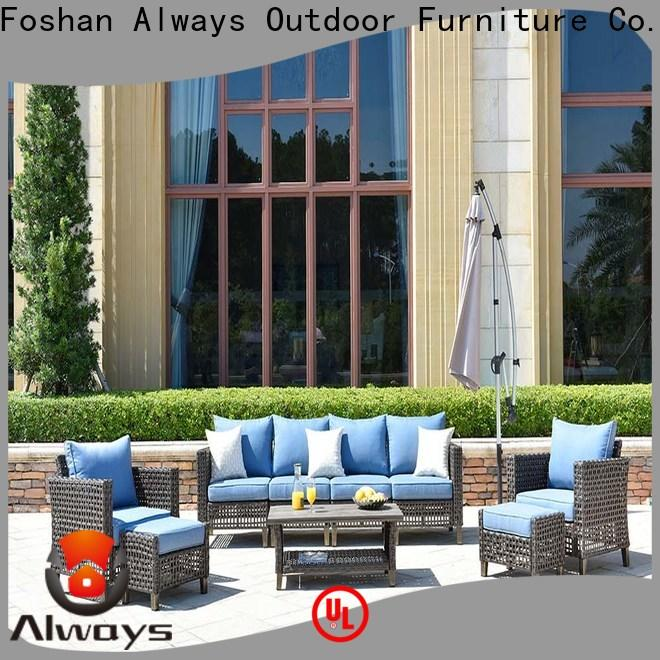 Always patio outside patio furniture from China for terraces
