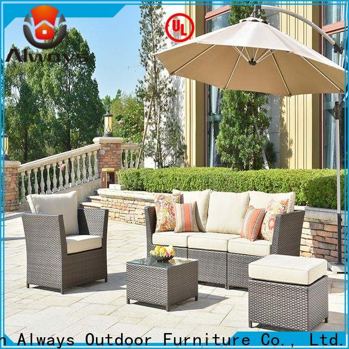 wicker outdoor furniture aluminum environmentally friendly for terraces