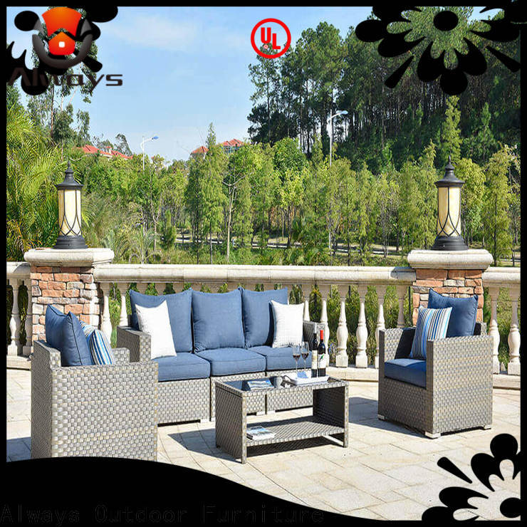 Always seating outside patio furniture promotion for swimming pools for outdoor leisure for places