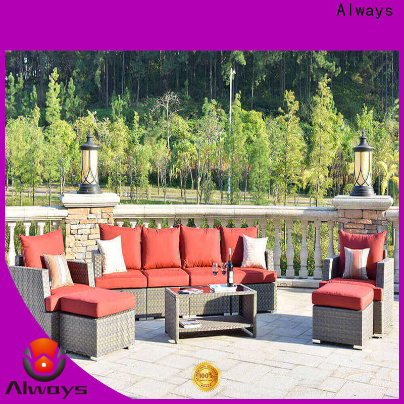 Always utility outdoor furniture wholesale manufacturer for terraces