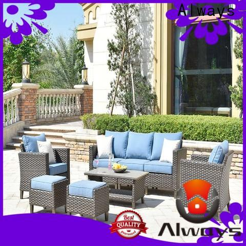 customized sectional patio furniture petrior set for porch