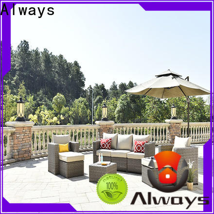 high quality wicker patio sofa garden environmentally friendly for swimming pools for outdoor leisure for places
