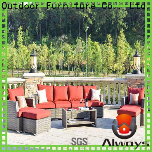Always size resin patio furniture environmentally friendly for gardens