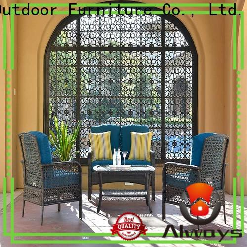 comfortable outdoor wicker patio furniture upgraded environmentally friendly for terraces