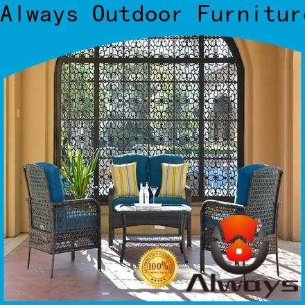 Always munlti-function all weather wicker sofa couch for porch