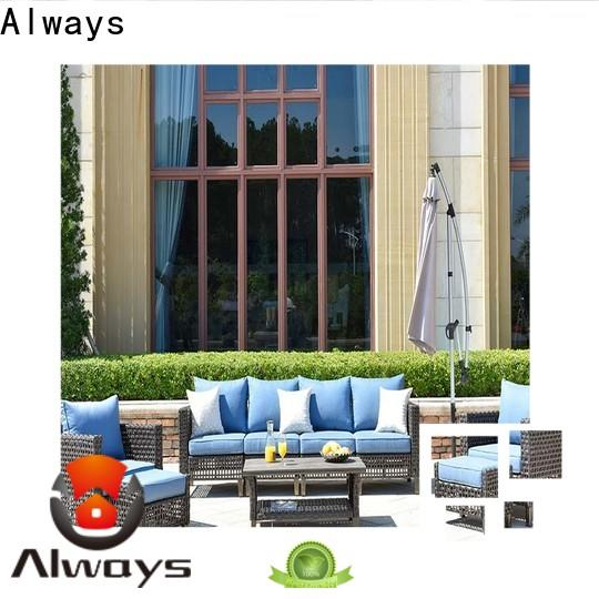 Always customized wicker style patio furniture for porch