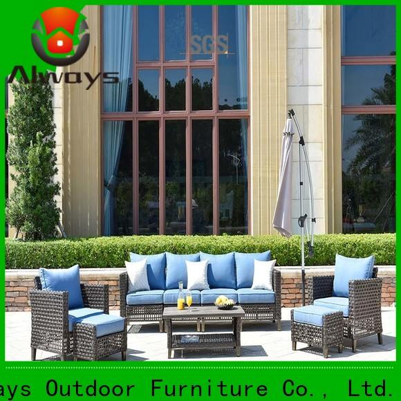 utility wicker outdoor sofa set piece for sale for terraces