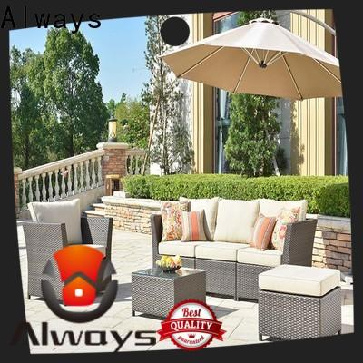 munlti-function wicker outdoor sofa set highgrade promotion for porch