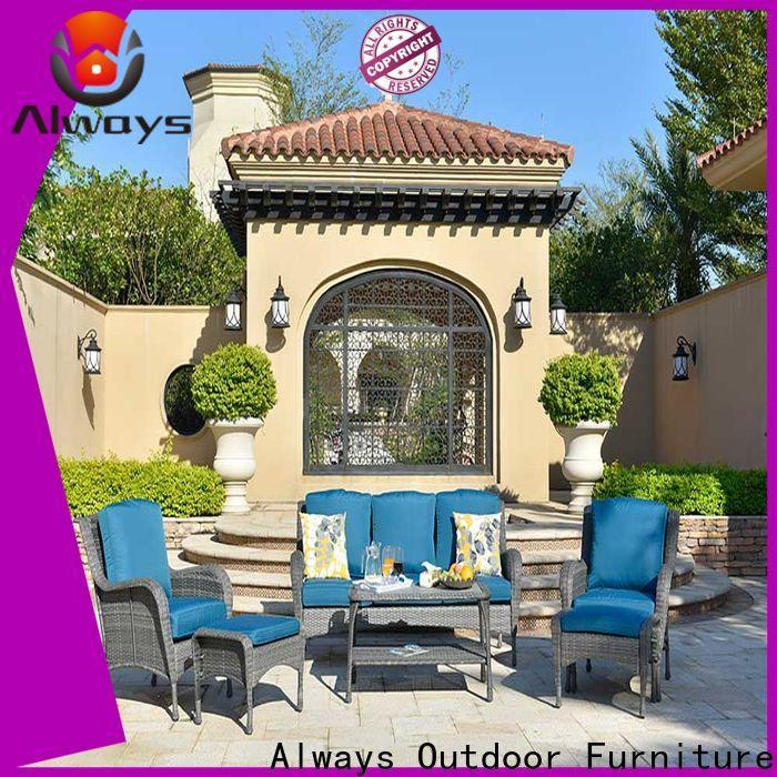 Always rattan resin patio furniture for gardens