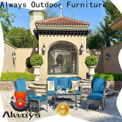 Always fashionable wholesale patio furniture for gardens