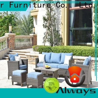 Always ethereal wicker outdoor furniture environmentally friendly for terraces
