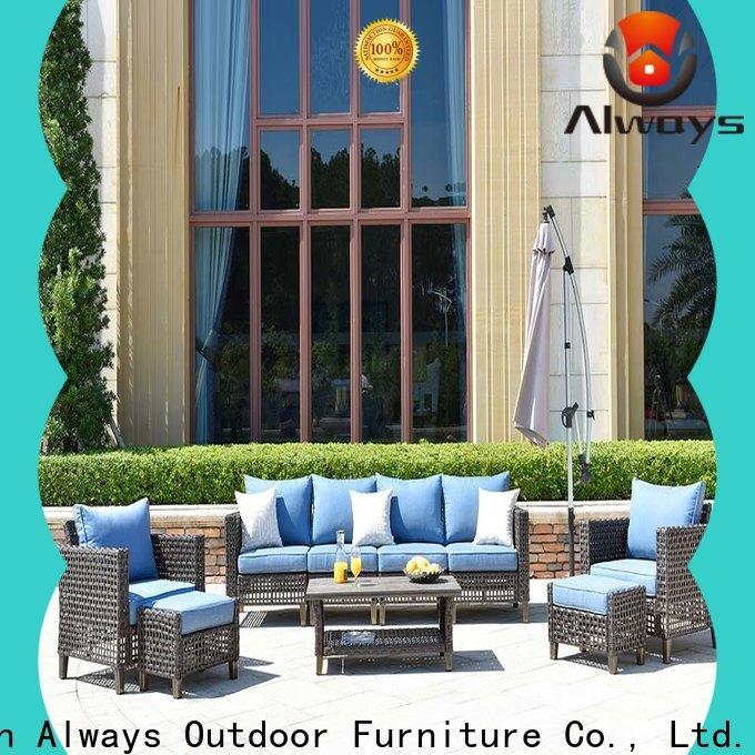 munlti-function wicker outdoor furniture wicker couch for swimming pools for outdoor leisure for places
