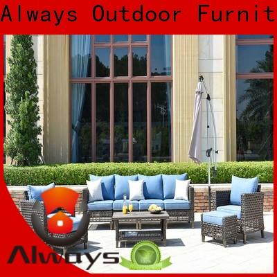 Always high quality outdoor furniture wholesale couch for swimming pools for outdoor leisure for places