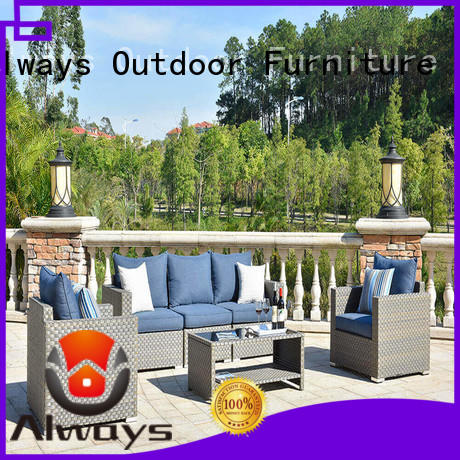 Always high quality commercial outdoor furniture wholesale environmentally friendly for terraces