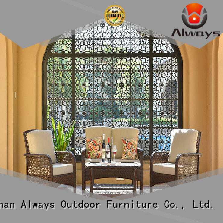 Always durable wicker patio sofa for sale for gardens