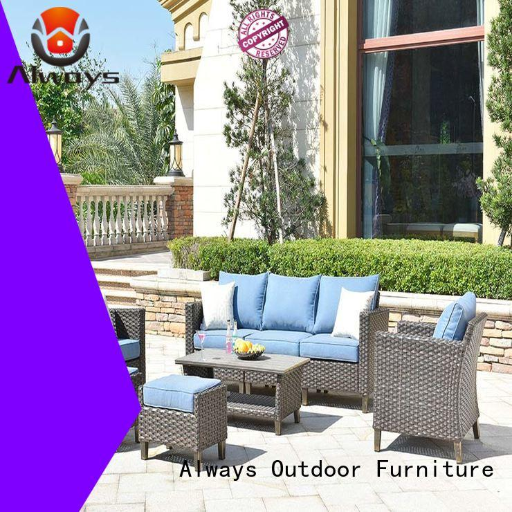 Always furniture poolside furniture from China for terraces