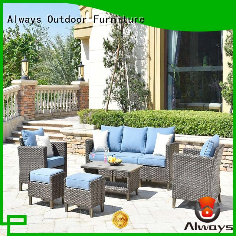 cane wicker patio sofa material for sale for gardens