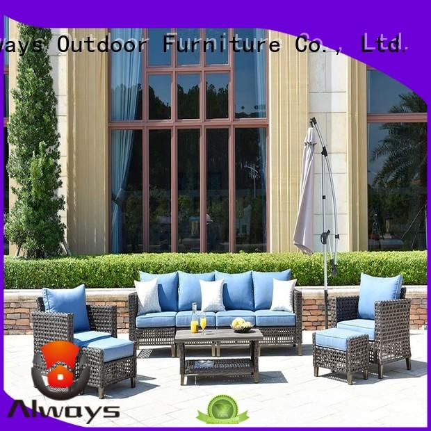 sofa wholesale patio furniture from China for terraces Always
