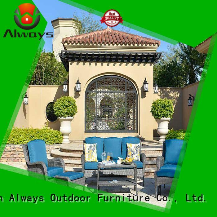 customized wicker style patio furniture wicker environmentally friendly for gardens