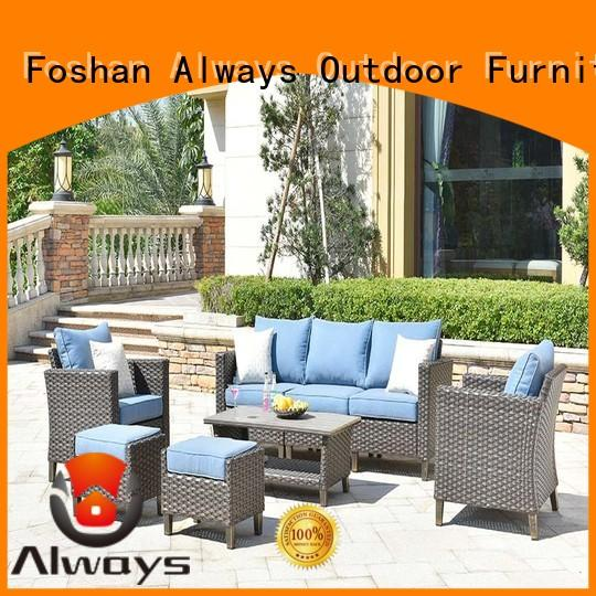 Always fashionable dining patio furniture set for gardens