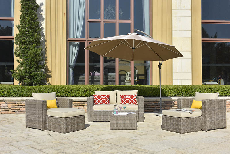comfortable all weather wicker sofa furniture for terraces-1