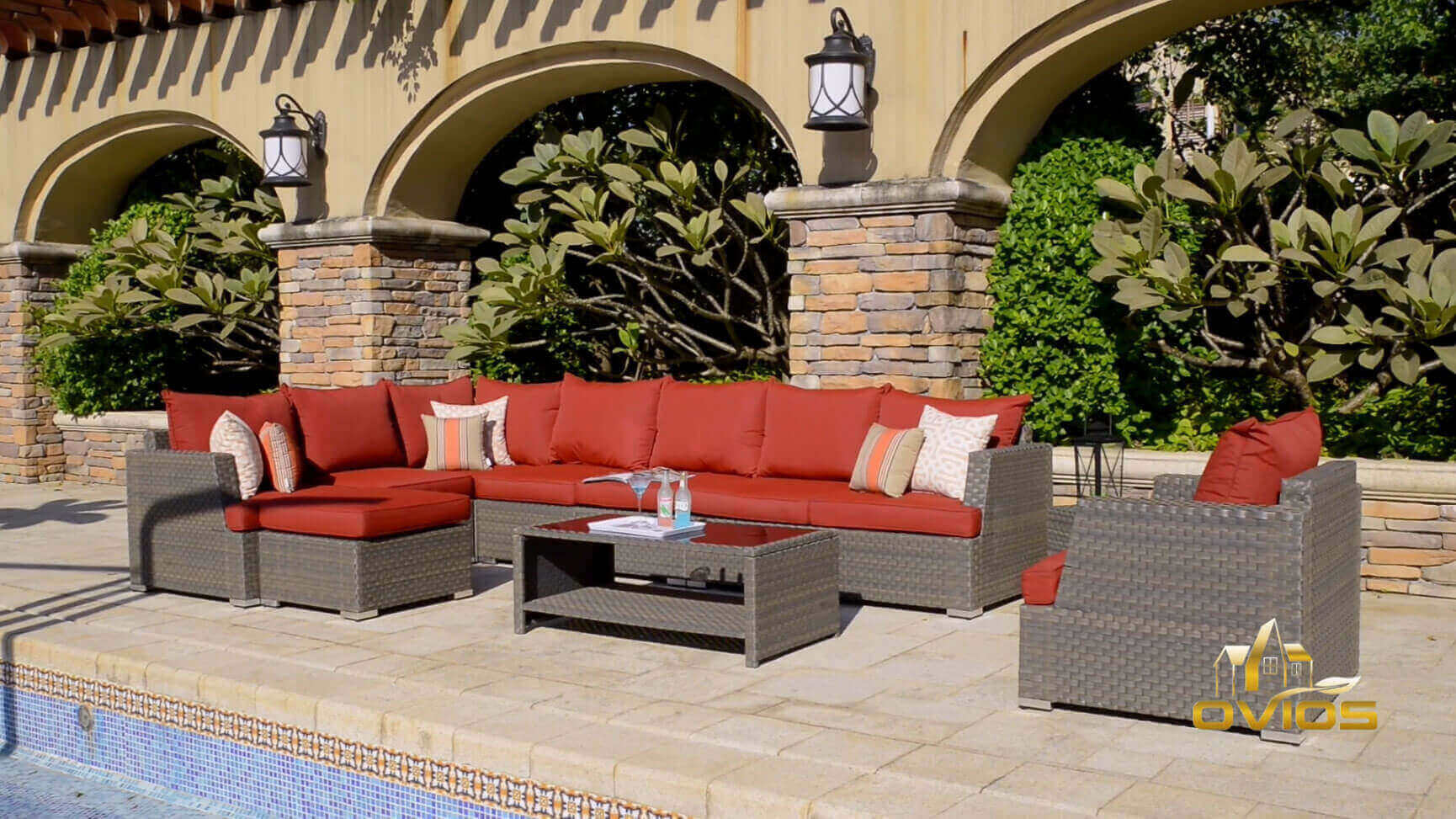 Garden Furniture Sofa Set  VIDEO