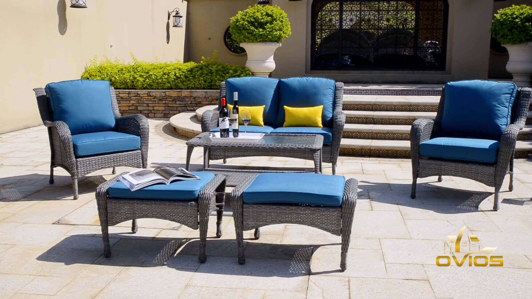 Weatherproof Wicker Patio Furniture VIDEO