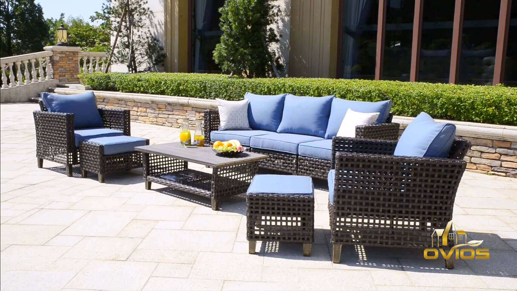 Oem & Odm Wicker Style Outdoor Furniture VIDEO