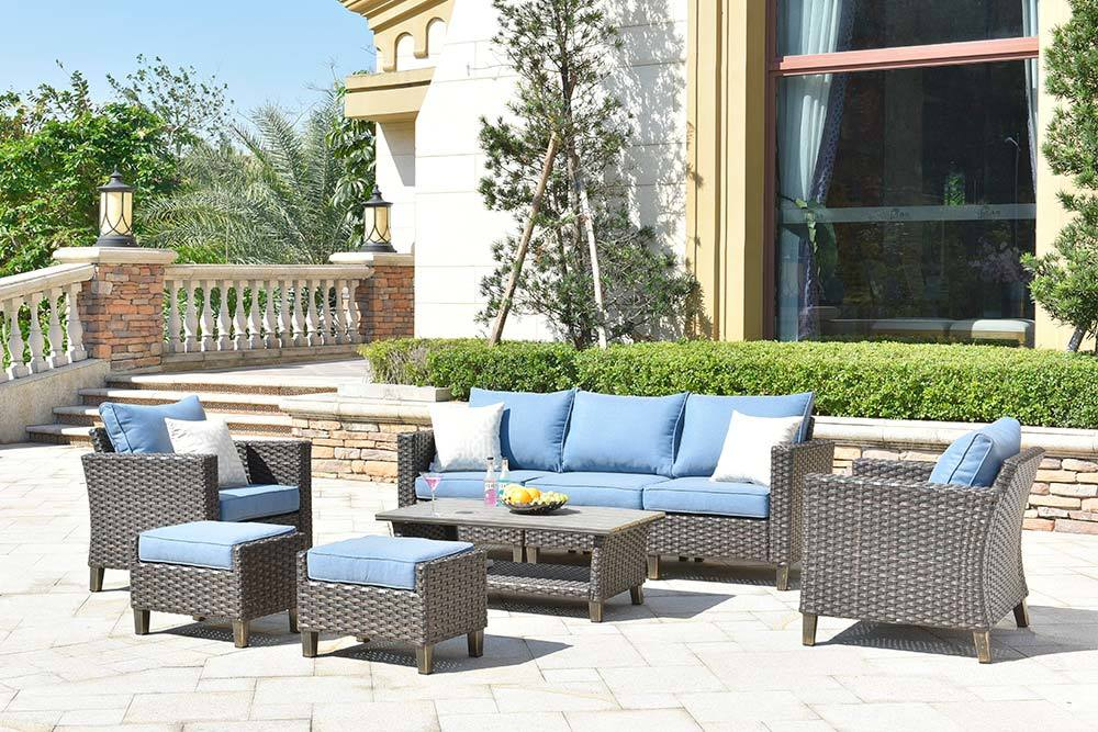 Oem Outdoor Pool Furniture Comfortable Sofa Set Vultros