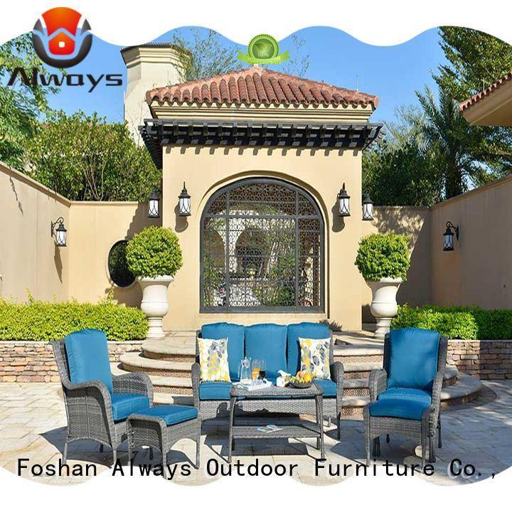 Always customized pool furniture wholesale outdoor for gardens