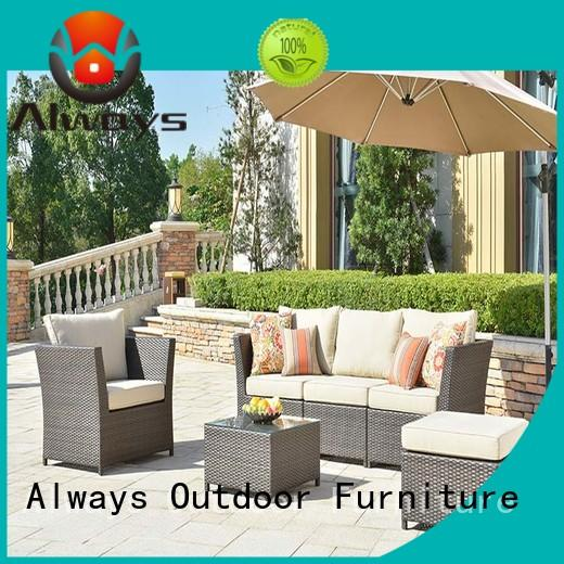 comfortable outdoor wicker patio furniture manufacturer for porch