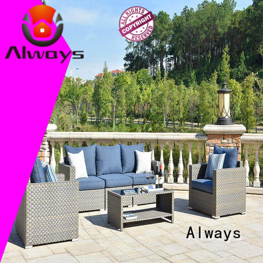 Always cane outdoor furniture wholesale promotion for porch