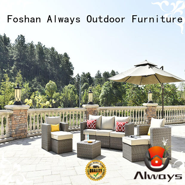 Always beautiful resin patio furniture environmentally friendly for terraces