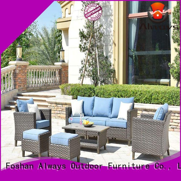 Always comfortable rattan wicker patio furniture color for porch