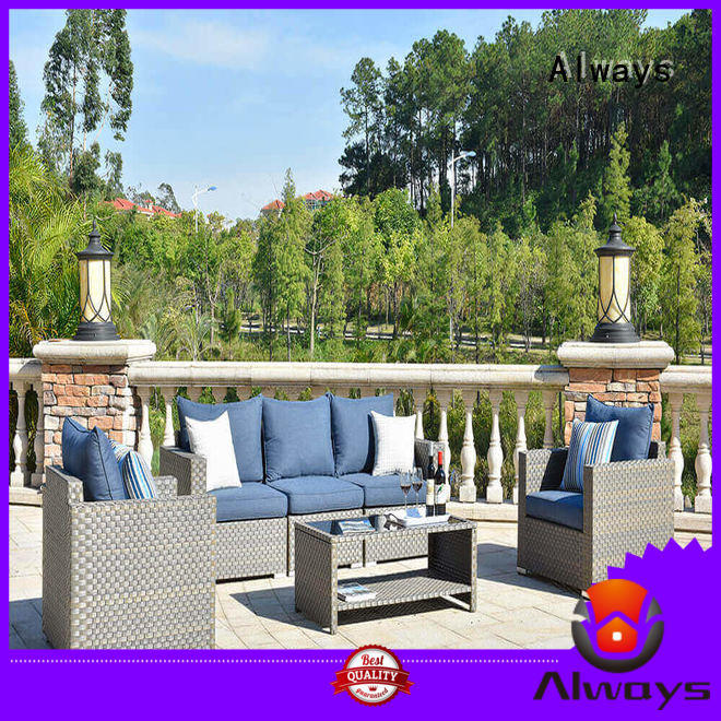 Always famamir outside patio furniture from China for terraces