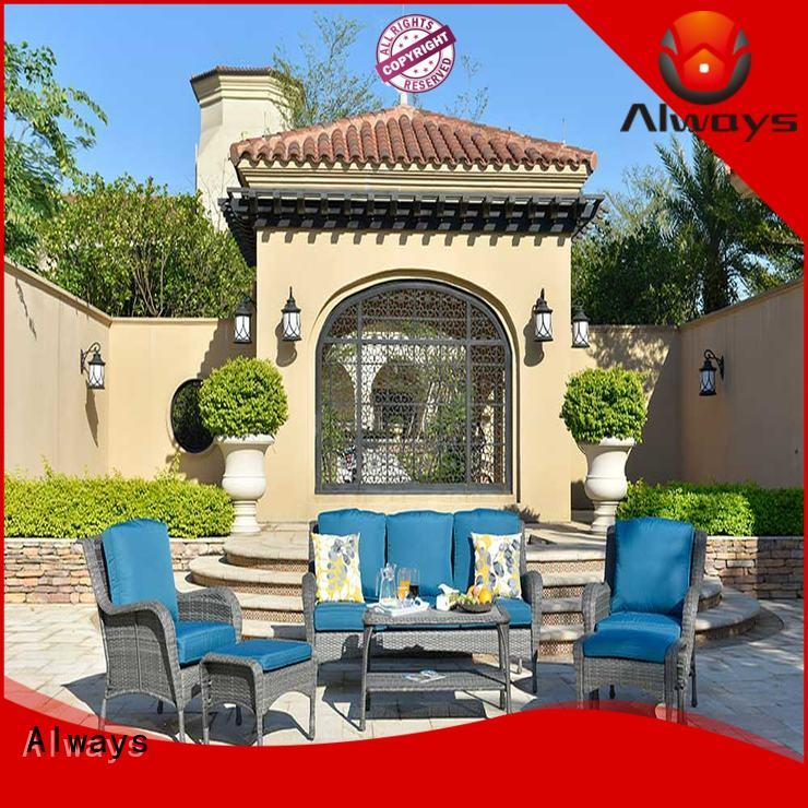 Always comfortable sectional patio furniture manufacturer for swimming pools for outdoor leisure for places
