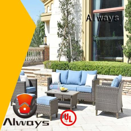 customized best patio furniture pe for porch