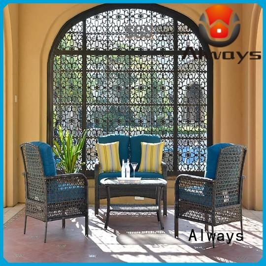 Always table outdoor pool furniture set for terraces