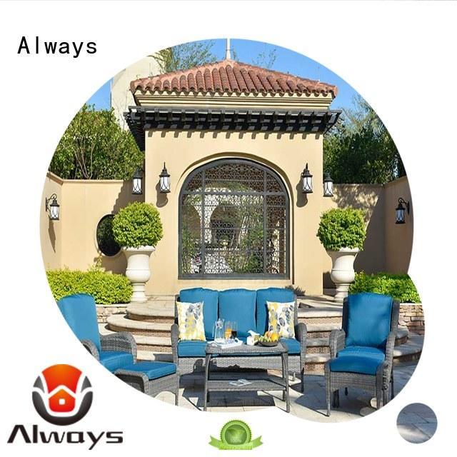 Always tolkien outdoor wicker sofa manufacturer for terraces