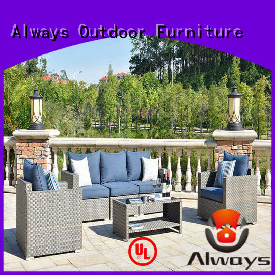 Always durable resin patio furniture environmentally friendly for terraces