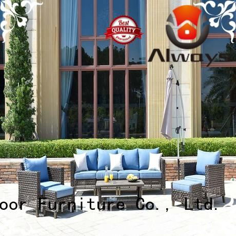 Always comfortable resin wicker patio furniture from China for porch