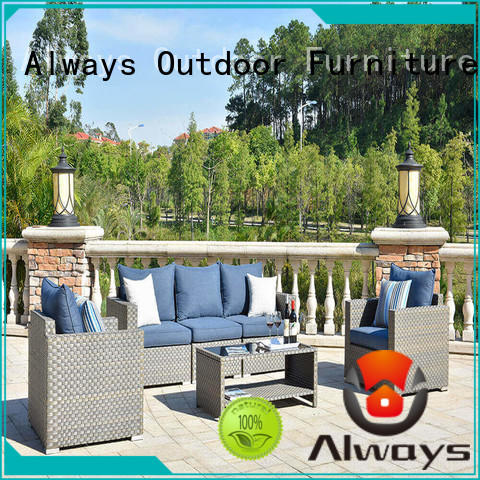 Always customized outdoor pool furniture factory price for gardens