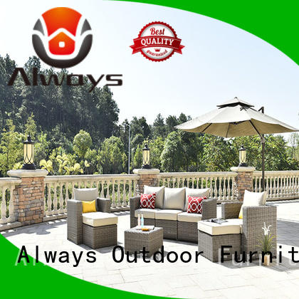 Always high quality wicker patio sofa promotion for porch