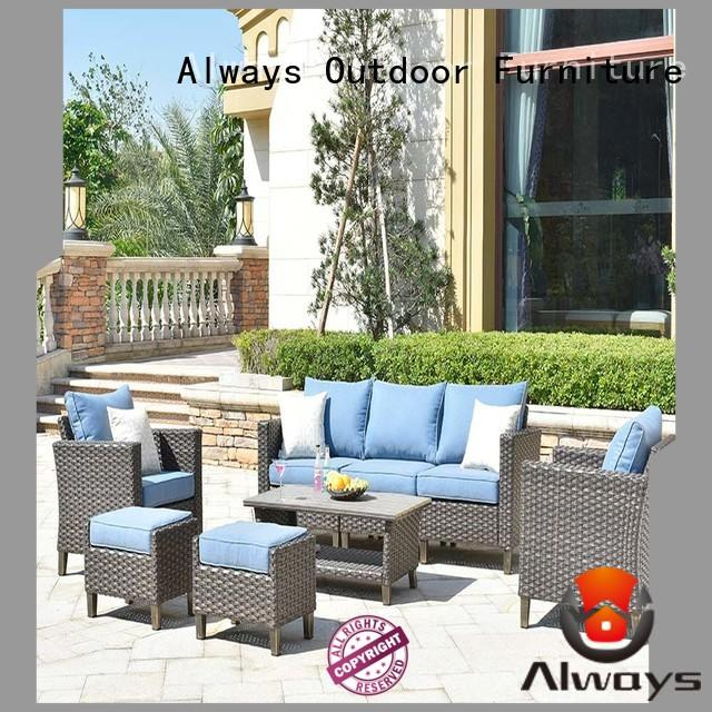 Always beautiful outdoor furniture wholesale manufacturer for gardens