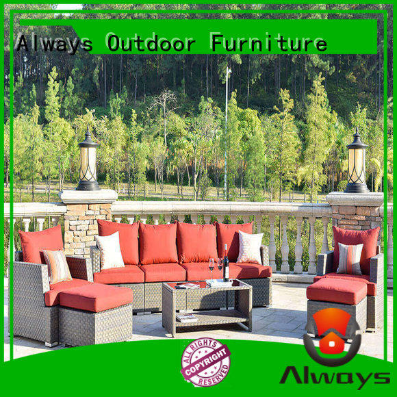 Always garden commercial outdoor furniture wholesale for gardens