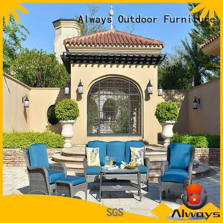wicker outdoor sofa set vultros for swimming pools for outdoor leisure for places Always