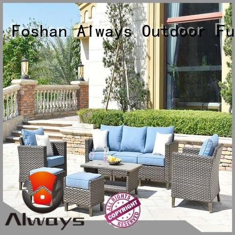 Always fashionable commercial outdoor furniture wholesale manufacturer for swimming pools for outdoor leisure for places